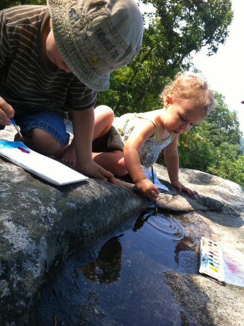 watercolors at the summit