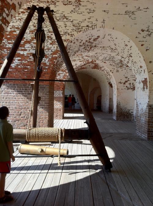 fort pulaski, arches